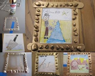 Gold Rush Frame and good 4th grade blog