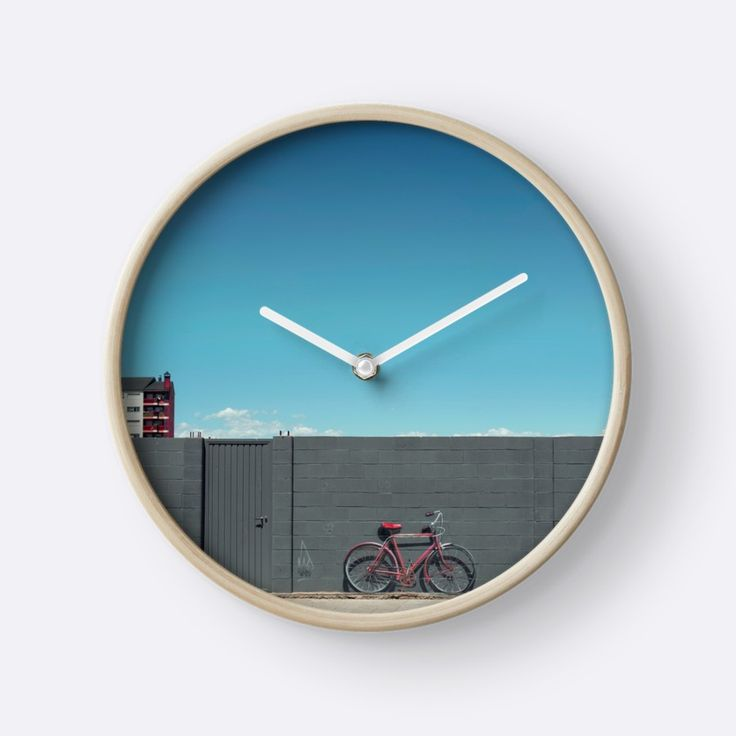 """""""The red bike doesn't exist"""" Clocks by TheOtherErre 