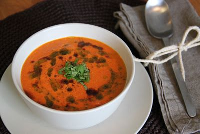 Soups, Tomato soups and Cashew cream on Pinterest