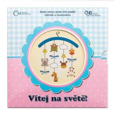 Sada oběžných mincí 2015 Narození dítěte stand | Česká mincovna