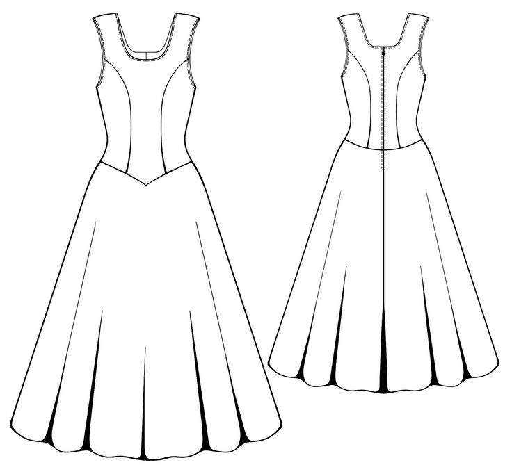 Magnificent Sewing Patterns For Dresses Free Online Photo - Easy ...