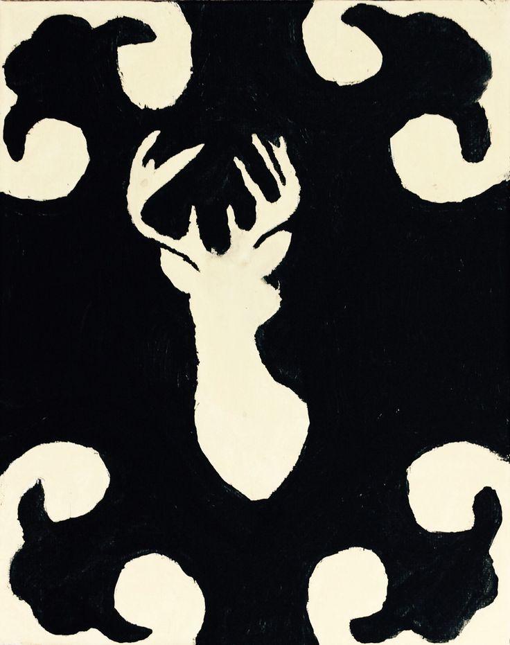 Painting- deer design
