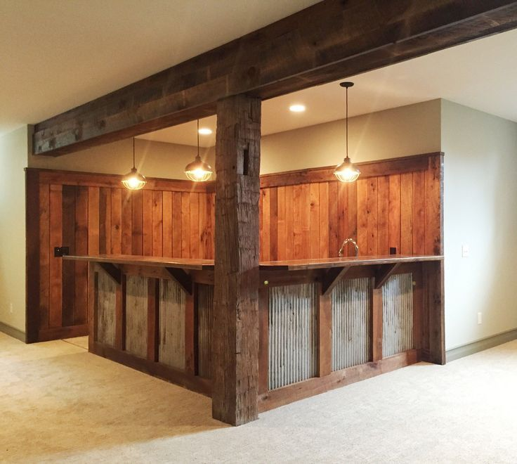 Diese Kellerbar Ist Einzigartig Diese Einzigartig Ist Kellerbar Rustic Basement Bar Home Bar Designs Basement Bar Designs