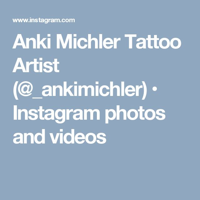 Anki Michler Tattoo Artist (@_ankimichler) • Instagram photos and videos