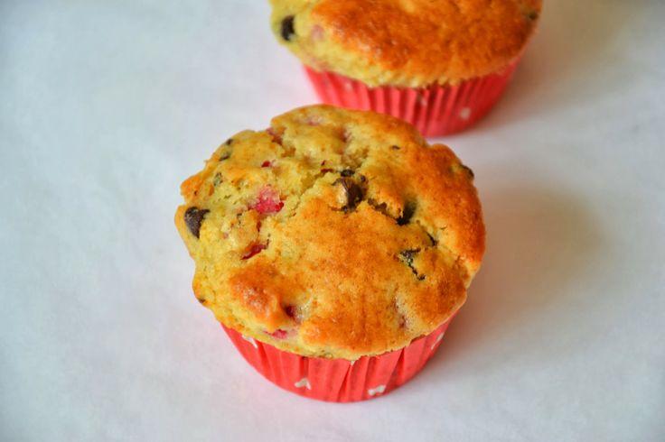 Raspberry Chocolate Muffins