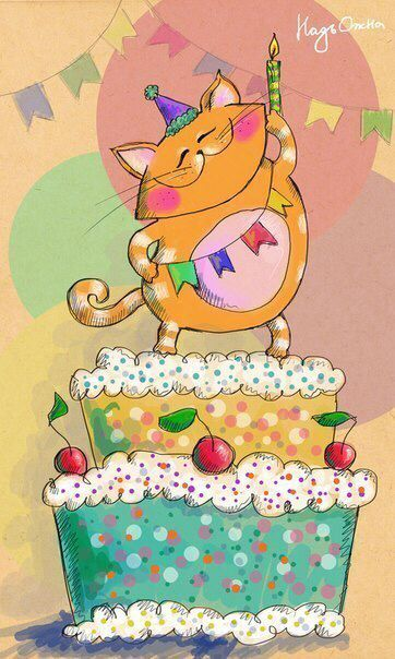 451 best images about illustrations happy birthday on
