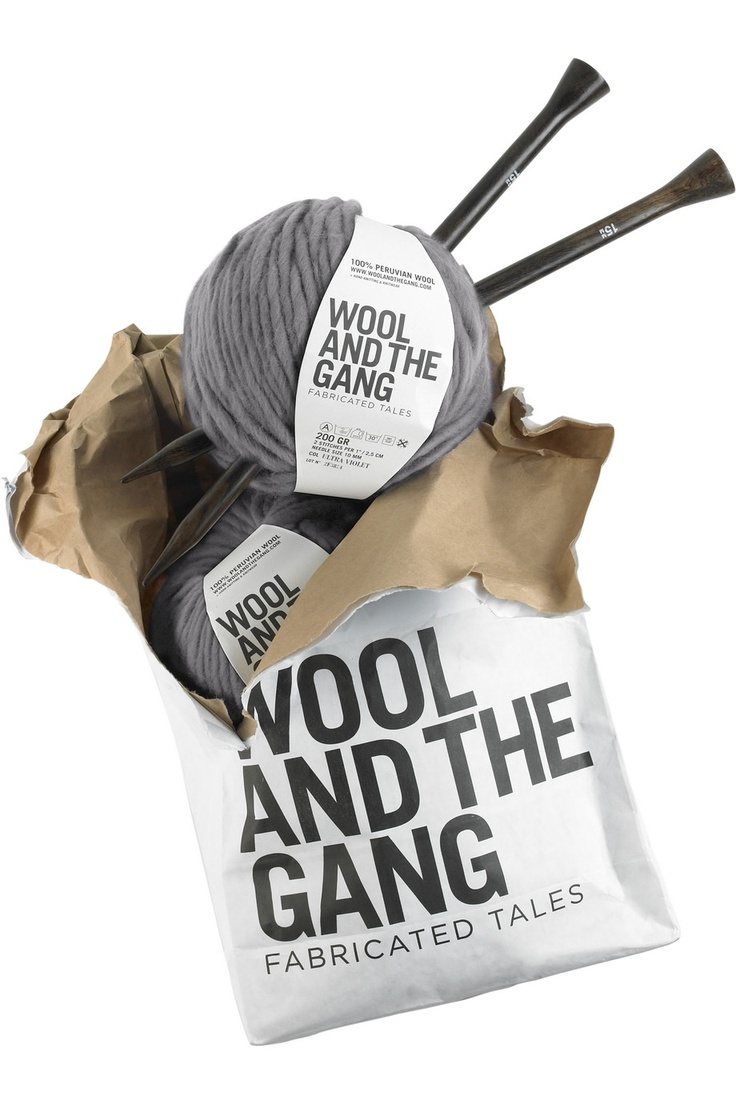 Package wool knit - great gift idea for the knitters you know!
