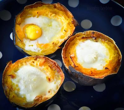 Gem Squashes Filled With Baked Eggs And Parmesan Recipes In 2019