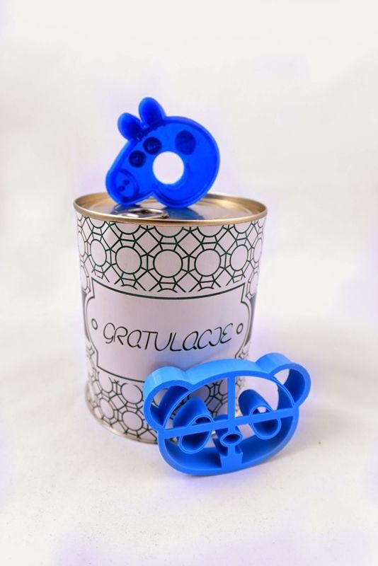 Puszki z wydrukami 3D i zabawną etykietą, pomysł na prezent! http://3dpoint.pl/?page_id=15646