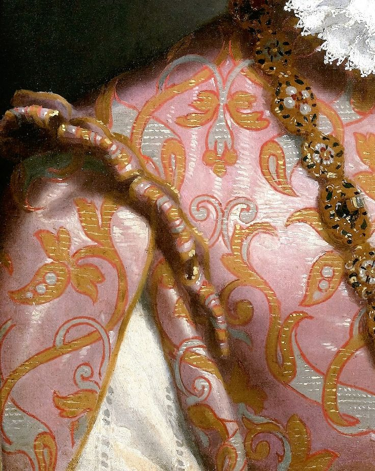 Portrait of a Youg Lady by Giovanni Battista Moroni, c. 1560- 65