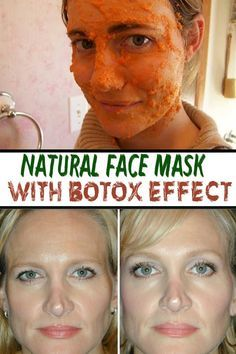 Natural Face Mask with Botox effect