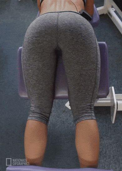 Lesbian yoga ass lick