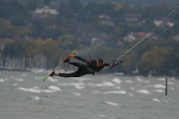 Last kitesurf session in France