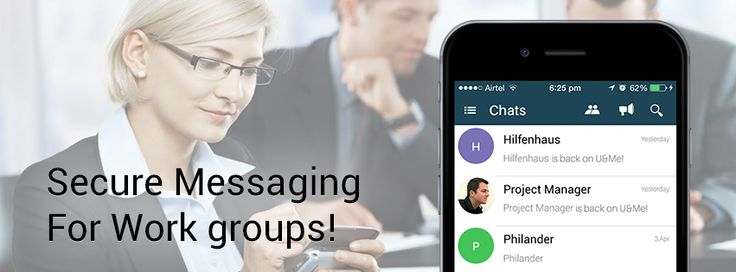 #UandmePlus is a secure, real-time messaging for #enterprises.
