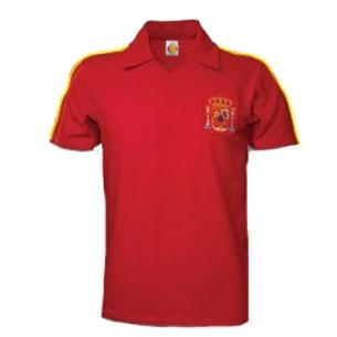Spain 1982 World Cup Shirt