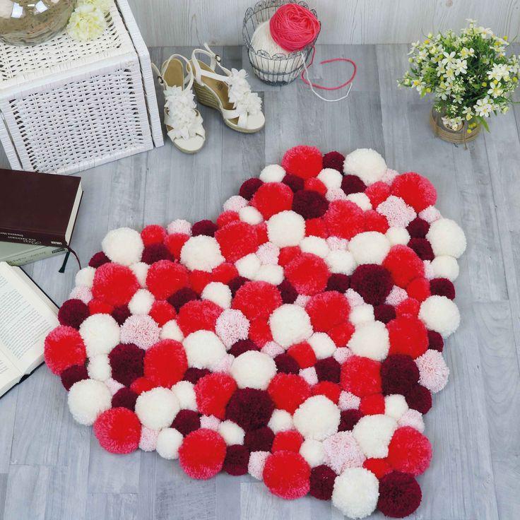 die besten 25 pompons selber machen ideen auf pinterest pompons machen pompom selber machen. Black Bedroom Furniture Sets. Home Design Ideas