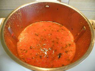 Coulis de tomates a conserver en pots pour l hiver