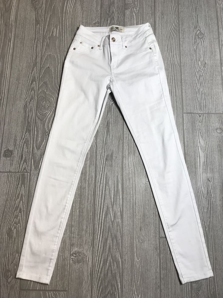 The Heather White Skinny Jeans 8204