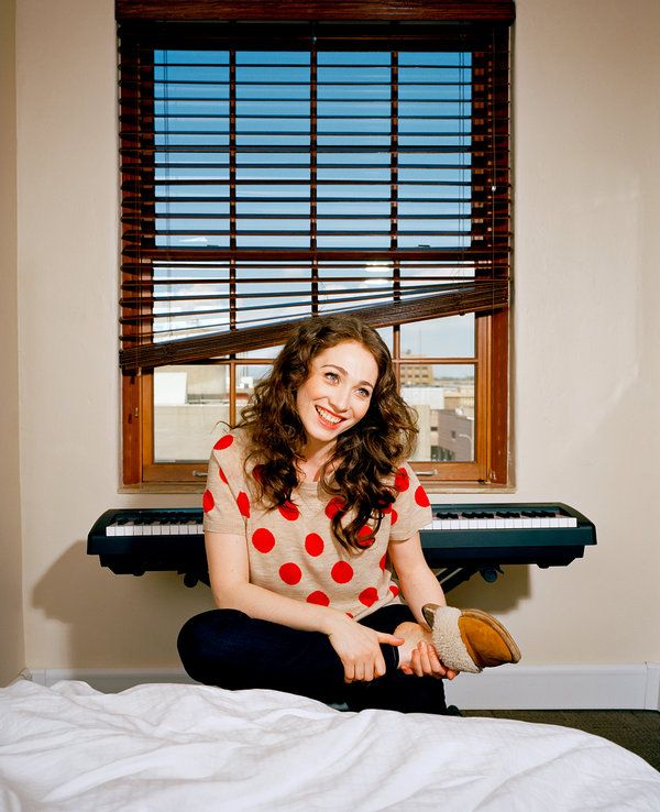"""Regina Spektor Has Piano, Will Travel,"" an article about my favorite musician in the New York Times."