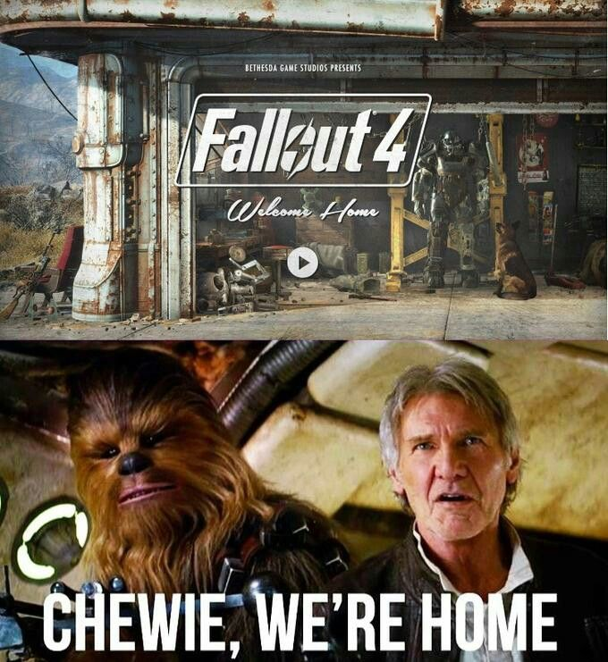 Oh yeah!!! Fallout Four... Finally