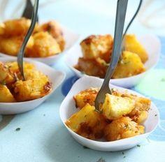 Patatas Bravas - Cuisine du monde - Pure Saveurs/Apportez une touche espagnole à vos apéritifs avec ces patatas bravas pleines de goûts.