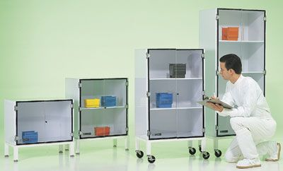 General Purpose Plastic Storage Cabinets — Cleanroom Storage Cabinets from Terra Universal