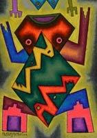 Bolivia.com - Arte de Roberto Mamani visita a Taipinquiri