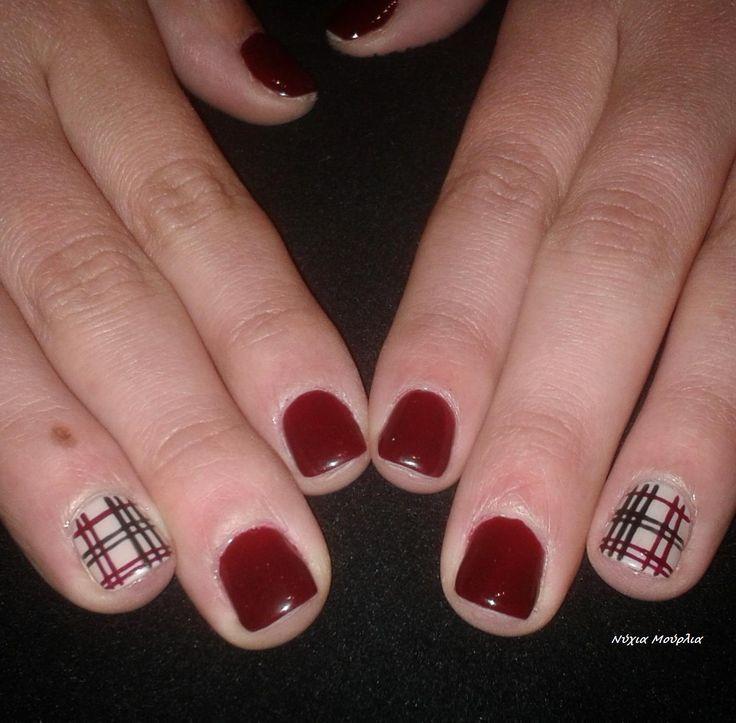 Manicure~nailart~handmadenailart~kiltnails