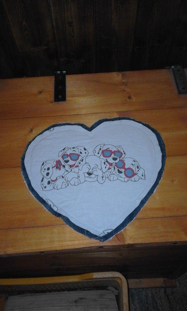 tovaglietta cuore di bandullera su Bebuù