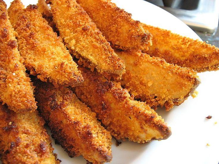 A burgonya ropogósan és jó fűszeresen a legfinomabb! Hozzávalók 1 kg burgonya…