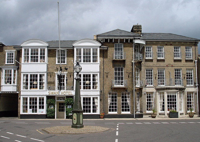 Swan Hotel, Southwold, Suffolk - The venue for the last time I had lunch with my Dad....