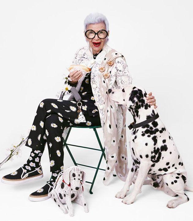 E não para por aí: a fashionista está na campanha de primavera-verão 2016 da Kate Spade