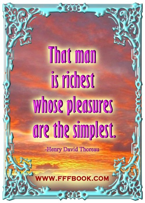 Happiness is the measure of true wealth