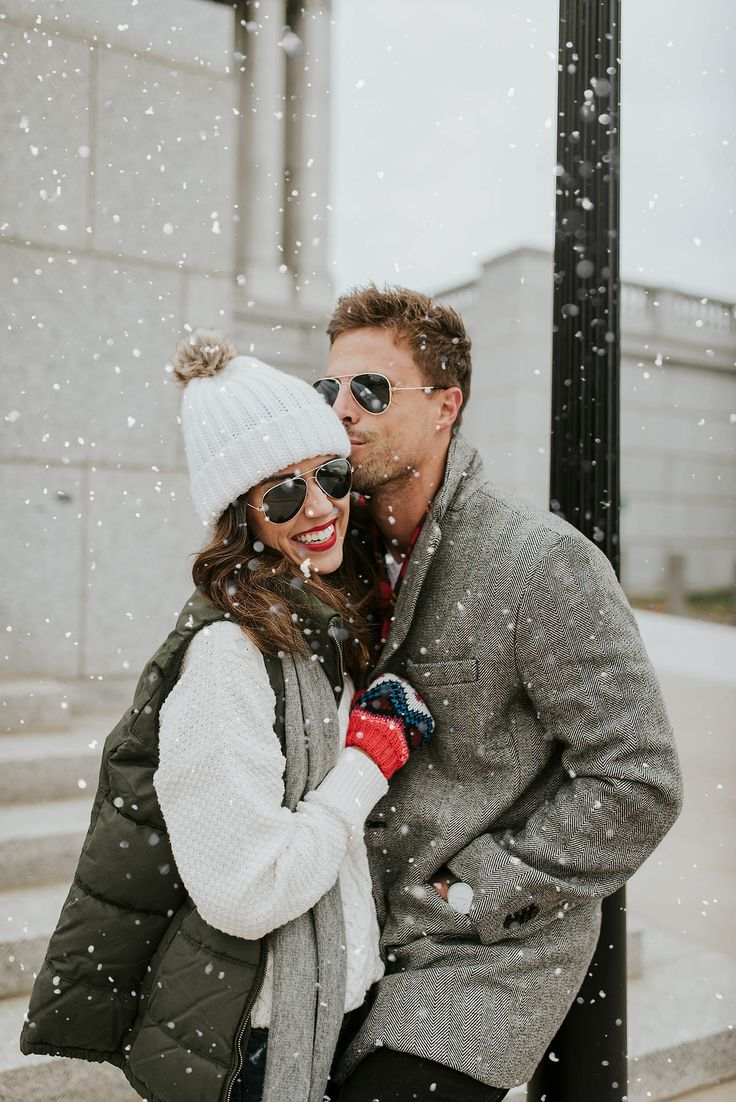 Couples winter style