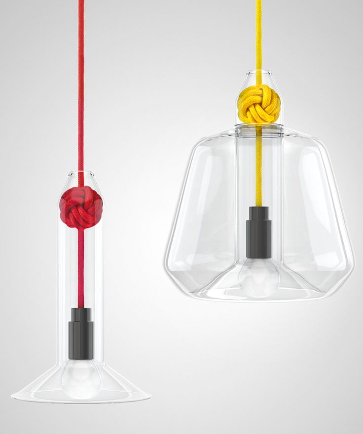 New Vitamin collection on show in London #lamp #colour