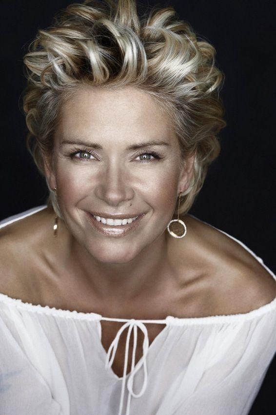 Wunderbar Frisur Claudia Effenberg Kapsels Kapsels Voor Kort Haar Grijs Haar Kapsels