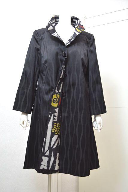 Remade kimono / Kimono-Remake Coat Pomar