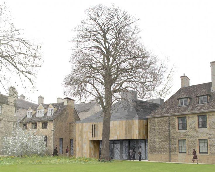 Worcester College Oxford - Burd Haward Architects