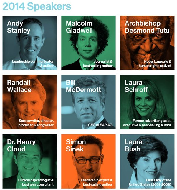 Leadercast Beyond You 2014 Speakers