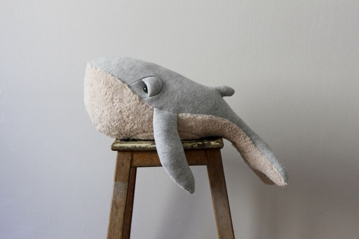 Small Whale Stuffed Animal <0> Plush Toy <0> Cotton Jersey & Cotton Faux Fur by BigStuffed on Etsy https://www.etsy.com/se-en/listing/194593153/small-whale-stuffed-animal-0-plush-toy-0