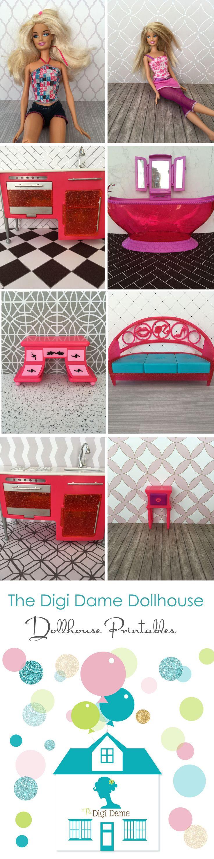 Dollhouse Printables by The Digi Dame Dollhouse on Etsy digidamedolls.etsy.com Buy 2 Get 1 FREE