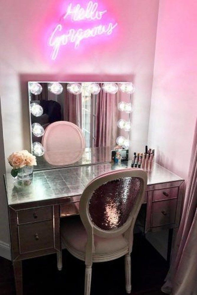 Awesome Makeup Table Design Ideas That You Must Copy Asap 35 Makeup Table Vanity Vanity Table Impressions Vanity