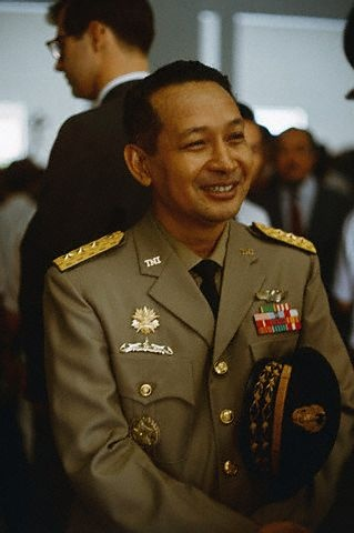 Soeharto, 2nd President of Indonesia. The smiling general. A brilliant visionary.