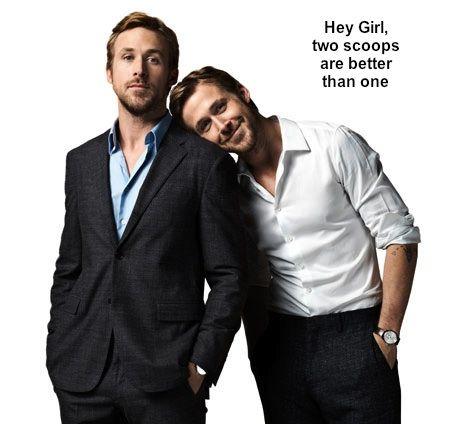 """I love the """"Hey Girl"""" meme.  I also love that Ryan loves it."""