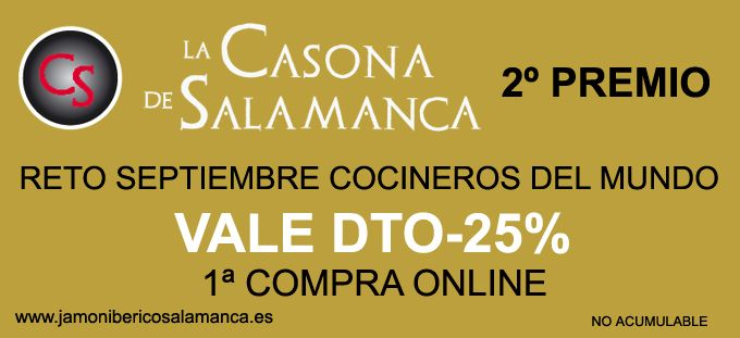 Reto de septiembre 2013 Cocineros de mundo. Segundo premio. http://cocinerosdelmundodegoogle.blogspot.com.es/2013/09/bases-del-reto-de-septiembre.html