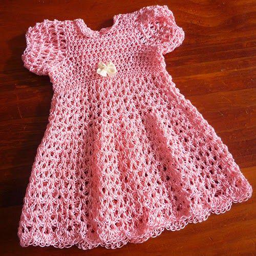 #free pattern; crochet; dress