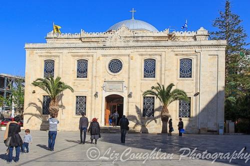 The Church of Titus, the Apostle, in Heraklion, CreteCrete Greece