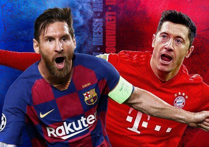 Bayern Munichs Julian Nagelsmann knows Champions League glory runs through FC Barcelona. Barcelona Vs Bayern Munich Live Ku Daawo Puter Mobile Bayern Munich Bayern Champions League Live