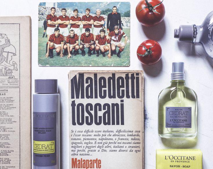 L'Occitane Cedrat tomatoes old books