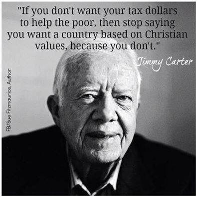 Jimmy Carter nails it. ~ trish